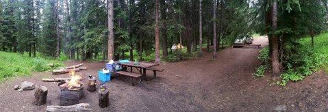 My campsite :)